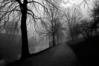 Photograph - Moody And Misty Morning by Inge Riis McDonald