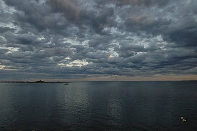 Unicorn Dust - Moody black Rock Bay by Alan Thal