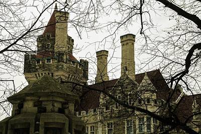 Photograph - moody - Casa Loma by Perggals - Stacey Turner