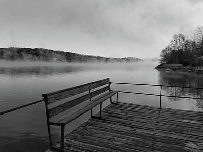 Lake Keowee Photograph - Moody Lake by Kate Montague