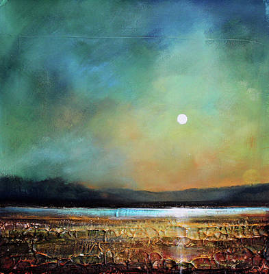 Moody Light Art Print by Toni Grote