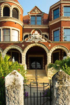 Photograph - Moody Mansion Main Entrance by Tikvah's Hope