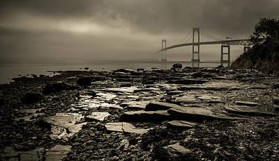 Photograph - Moody Morning Light  by John Repoza