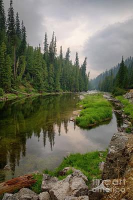 Photograph - Moody River by Idaho Scenic Images Linda Lantzy