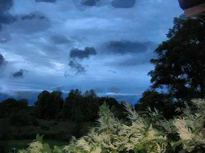 Digital Art - Moody Skies by Mario Carini