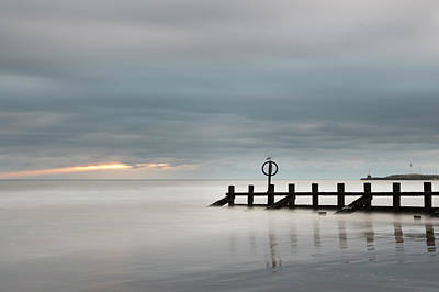 Photograph - Moody Skies Over Aberdeen Beach by Veli Bariskan