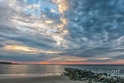 Photograph - Moody Sunrise by Dale Powell