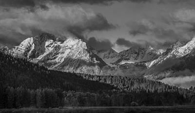 Photograph - Moody Teton by Torrey McNeal