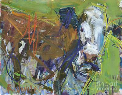 Painting - Moomoo by Robert Joyner