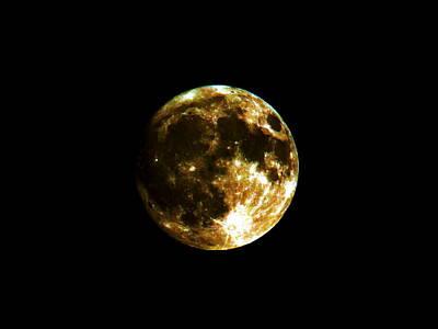 Photograph - Dark Moon by Jean Evans