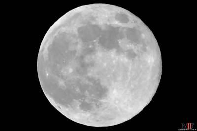 Photograph - Moon 29may18 by Michael Frank Jr