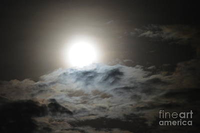 Photograph - Moon And Cloud Serenade by Darla Wood