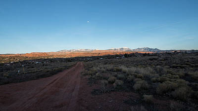 Photograph - Moon And Sagebrush by Tom Cochran