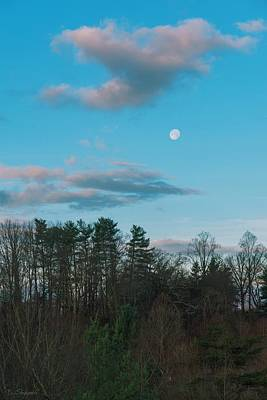 Photograph - Moon At Dawn by Brian Shepard