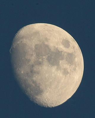 Photograph - Moon At Dusk by Richard Engelbrecht