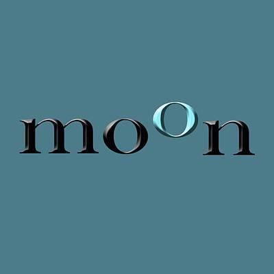 Photograph - Moon by Bill Owen