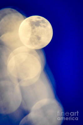 Photograph - Moon Blur-2 by Cheryl McClure