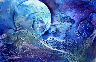 Painting - Moon Catcher II by Anne Duke