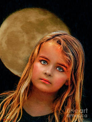 Photograph - Moon Child  by Blake Richards