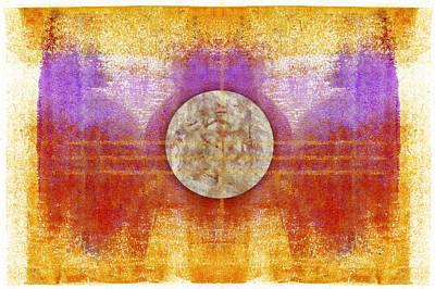 Moon Colors Art Print by Carol Leigh