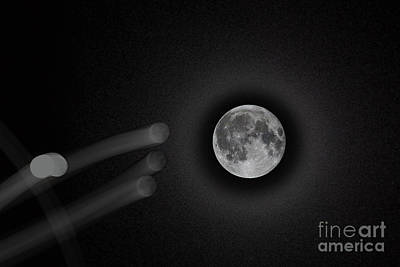 Photograph - Moon Compilation  by Afrodita Ellerman