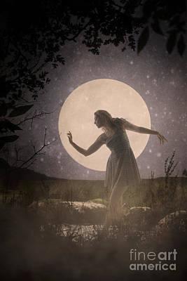 Moon Dance 001 Art Print