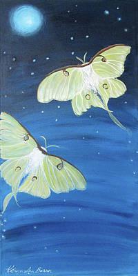 Destiny Painting - Moon Dancers by Kathryn Bonner