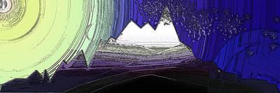 Moon Everest Art Print by Patrick Guidato
