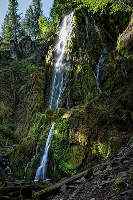 Photograph - Moon Falls by Belinda Greb