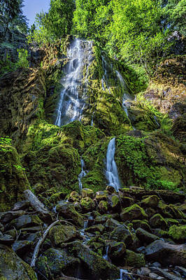 Photograph - Moon Falls, No. 2 by Belinda Greb