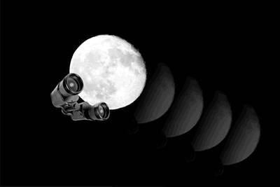 Photograph - Moon Gazing by Joyce Dickens