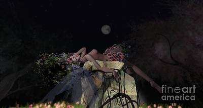Photograph - Moon by Georgina Hannay