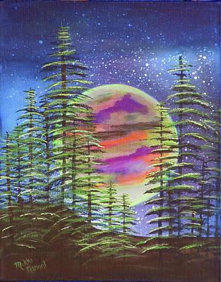 Moon Glow Original by Mikki Alhart