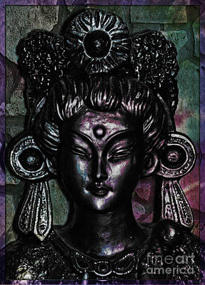 Digital Art - Moon Goddess by Lita Kelley
