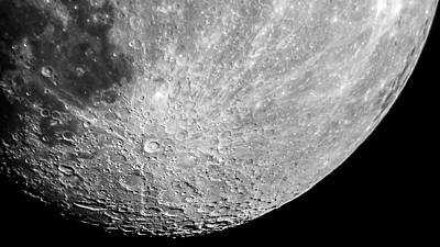 Photograph - Moon by Greg Reed
