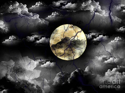 Moon In The Storm Original by Serena Ballard