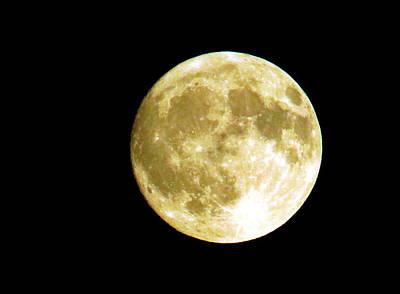 Thomas Kinkade Royalty Free Images - Moon Royalty-Free Image by Jean Evans