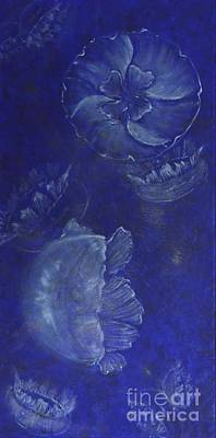 Moon Jellies Art Print