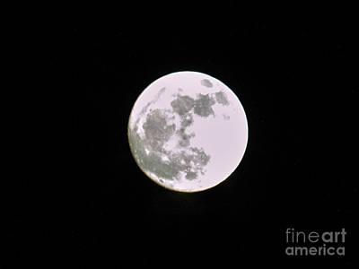 Photograph - Moon by Judy Hall-Folde