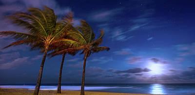 Beauty Mark Photograph - Moon Lagoon by Mark Andrew Thomas