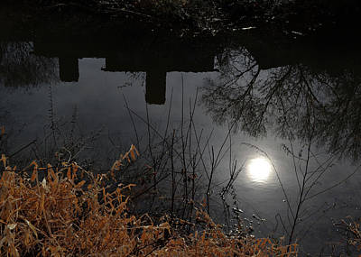 Art Print featuring the photograph Moon Lake by Larry Bishop