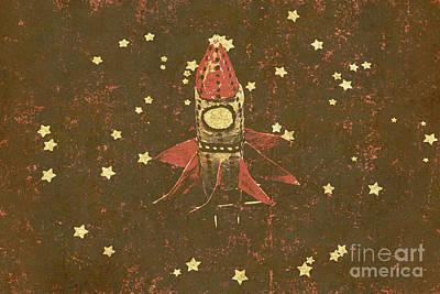 Moon Landings And Childhood Memories Art Print