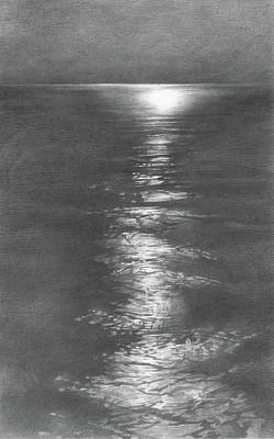 Moon Light In The Sea Original