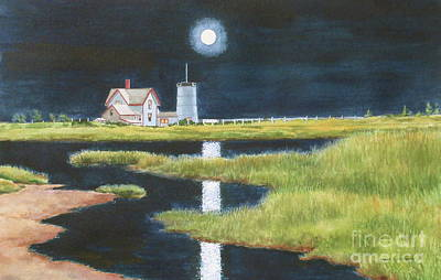 Painting - Moon Light by Karol Wyckoff