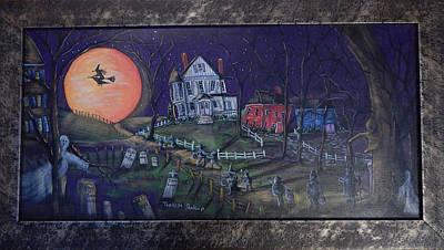 Moon Lights The Way Art Print