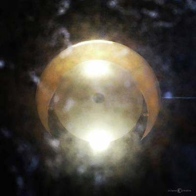 Photograph - Moon-like Reflection by Tim Nyberg