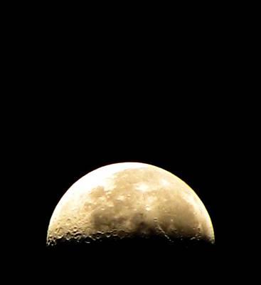 Photograph - Moon Loop by Chris Dunn