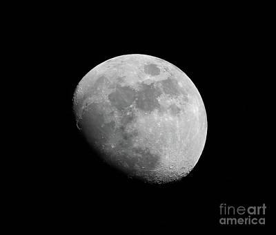 Photograph - Moon by Ludek Sagi Lukac