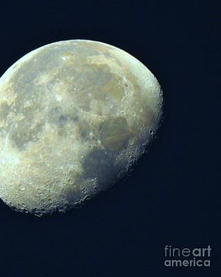 Abstract Moon Photograph - Moon Madness by Scott Cameron