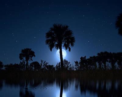 Photograph - Moon Magic by Mark Andrew Thomas